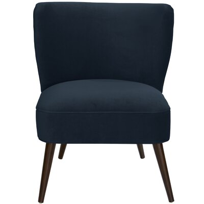 Mamounia Slipper Chair Upholstery: Regal Navy