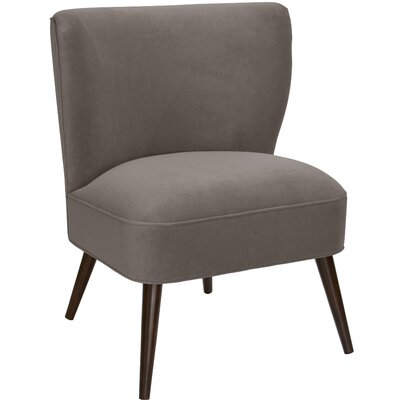 Mamounia Slipper Chair Upholstery: Regal Smoke