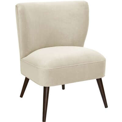 Mamounia Slipper Chair Upholstery: Regal  Antique White