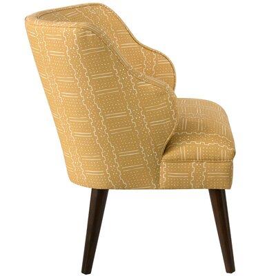 Tobar Wingback Chair Upholstery: Bogo Citrine OGA