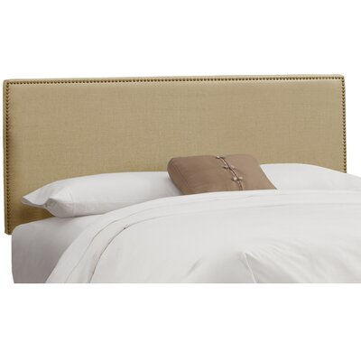Marion Upholstered Panel Headboard Size: King