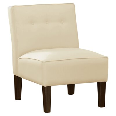 Garden Slipper Chair Upholstery: Regal Antique White