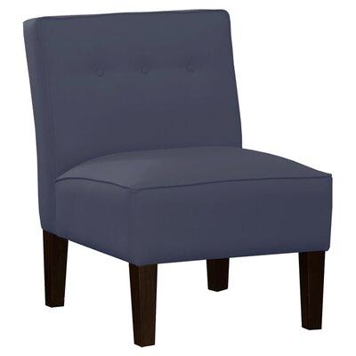 Garden Slipper Chair Upholstery: Premier Lazuli Blue