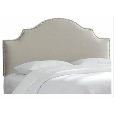 Aurora Velvet Upholstered Panel Headboard Size: Queen