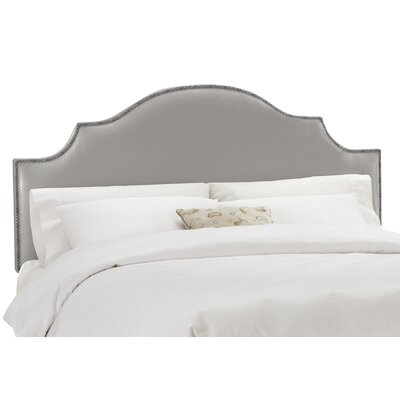 Aurora Shantung Upholstered Panel Headboard Size: Queen