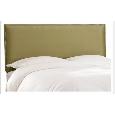 Marion Premier Fabric Upholstered Panel Headboard Size: King