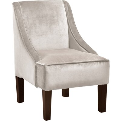 Moira Polyester Arm Chair Color: Dove
