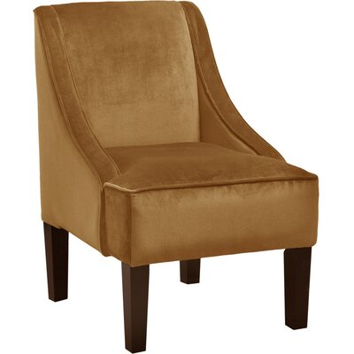 Moira Polyester Arm Chair Color: Moccasin