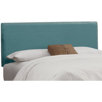 Marion Linen Upholstered Headboard Size: Queen, Color: Laguna