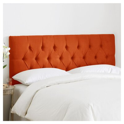 Leighton Tufted Polyester Upholstered Headboard Size: California King