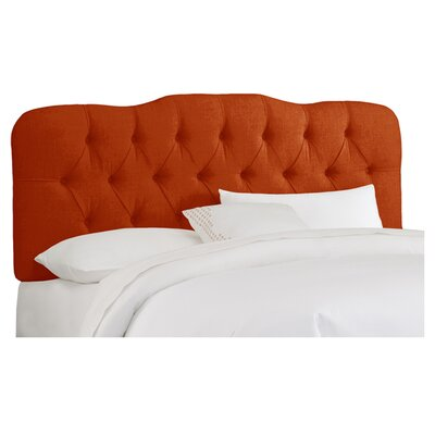 Carnaby Tufted Polyester Upholstered Headboard Size: King