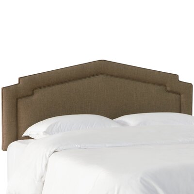 Brayden Studio Thao Notched Upholstered Panel Headboard