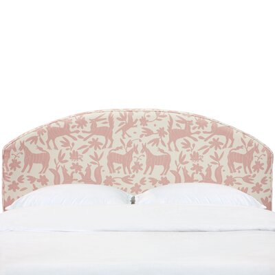 Chatelaine Curved Upholstered Panel Headboard Size: California King