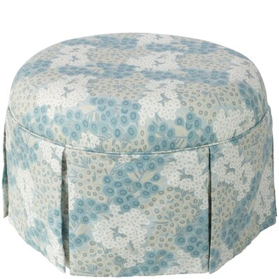 Labrosse Round Skirted Ottoman