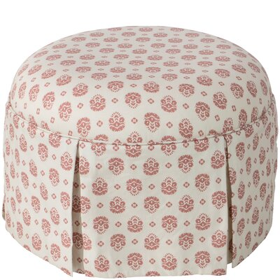 Cousteau Round Skirted Ottoman