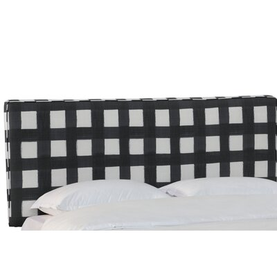 Terrio Box Seam Linen Upholstered Panel Headboard Size: Twin