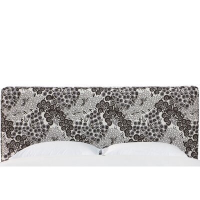 Faustine Seam Linen Upholstered Panel Headboard Size: Full