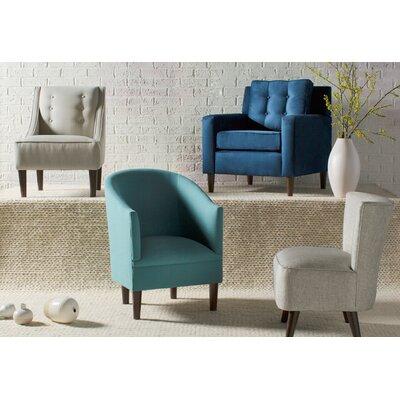 Diana Barrel Chair Upholstery: Linen Laguna