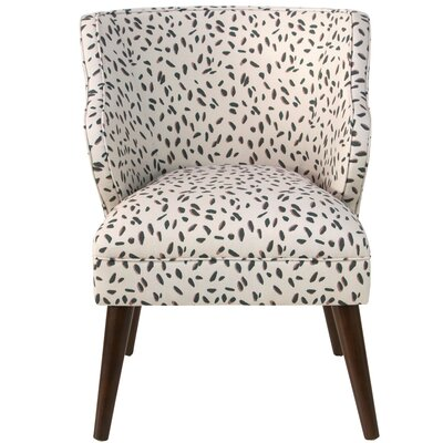 Senneterre Modern Neo Leo Linen/Cotton Side Chair