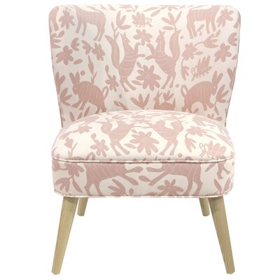 Blaize Wallflower Polyester/Cotton Side Chair