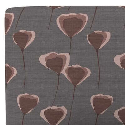 Heineman Linen Upholstered Panel Headboard Size: King