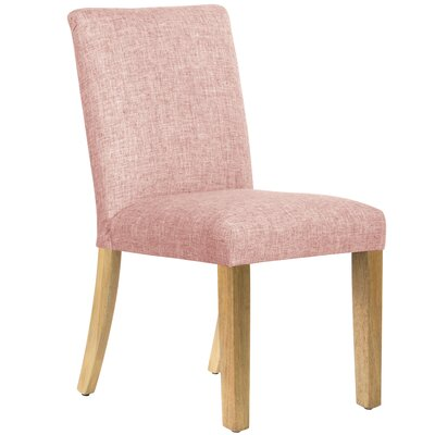 Aspasius Side Chair Upholstery: Rose Quartz