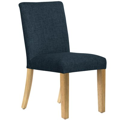 Aspasius Side Chair Upholstery: Navy