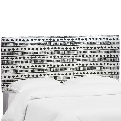 Dillon Upholstered Panel Headboard Size: Queen