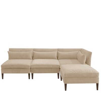 Alayna Modular Sectional Color: Buckwheat