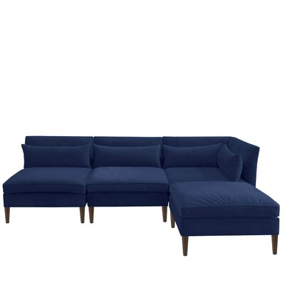 Alayna Modular Sectional Color: Navy