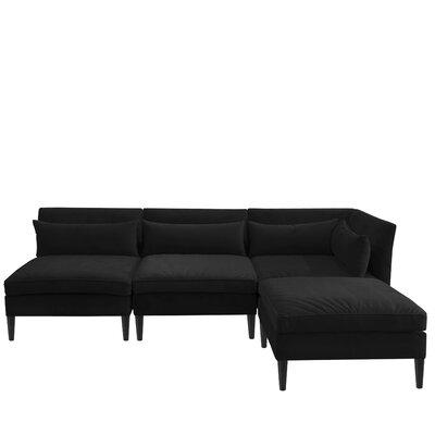 Alayna Modular Sectional Color: Black