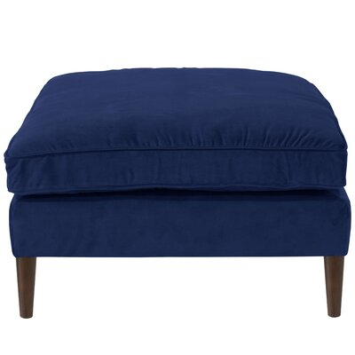 Halle Ottoman Color: Navy