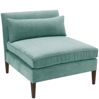 Madisyn Slipper Chair Color: Caribbean