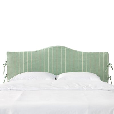 Oasis Cotton Headboard Slipcover Size: King
