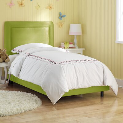 Financing Border Micro-Suede Youth Bed Size: ...