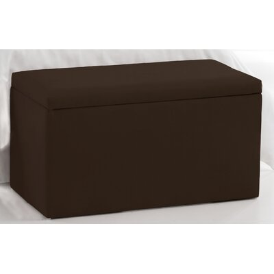 Duck Storage Ottoman Upholstery: Chocolate