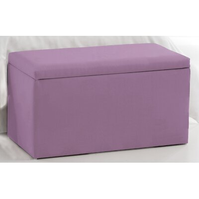 Duck Storage Ottoman Upholstery: Lilac
