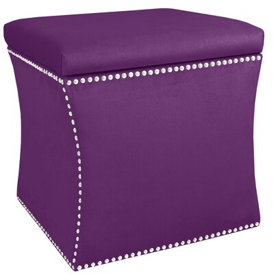 Christon Nail Button Storage Ottoman