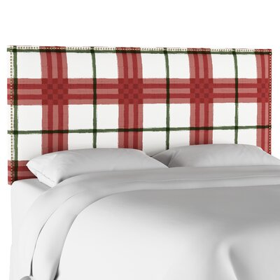 Pacheco Nail Button Border Upholstered Panel Headboard Size: Twin