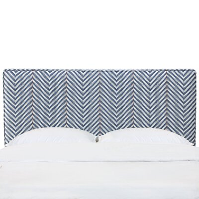 Yearby Upholstered Panel Headboard Size: California King