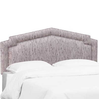 Overturf Upholstered Panel Headboard Size: King