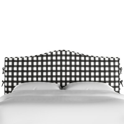 Blenheim Slipcover Upholstered Panel Headboard Size: California King