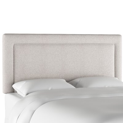 Oxendine Border Upholstered Panel Headboard Size: King