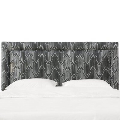 Oxendine Border Upholstered Panel Headboard Size: Queen