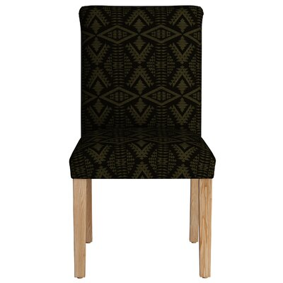Baxter Springs Upholstered Dining Chair Color: Moss