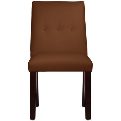 Metropole Tapered Upholstered Dining Chair Upholstery: Duck Chocolate