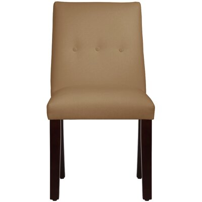Metropole Tapered Upholstered Dining Chair Upholstery: Duck Khaki