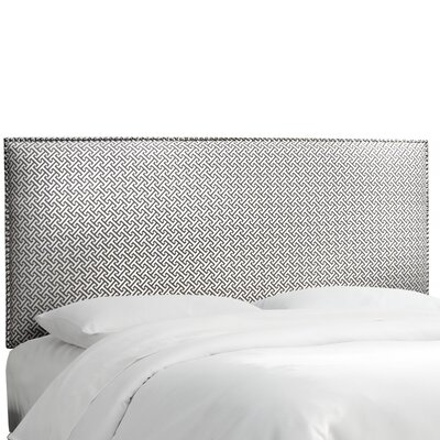 Cross Section Upholstered Headboard Size: Queen