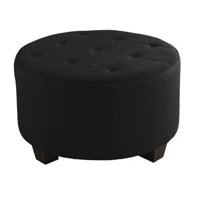 Premier Lounge Ottoman Upholstery: Black