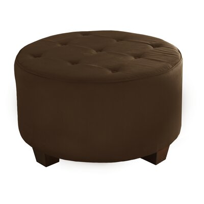 Premier Cocktail Ottoman Upholstery: Chocolate